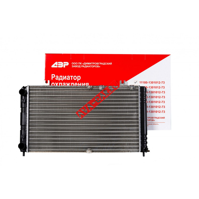 """Радиатор охлаждения ВАЗ 11183; 11173; 11193 """"Калина"""""""