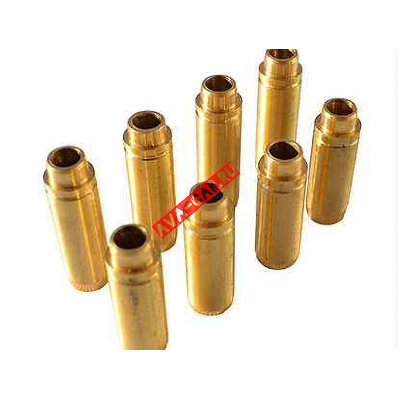 Втулки направляющие клапана ВАЗ 2101-2107, 2121, 2131, 2123 ДВС латунные ТОР-Д