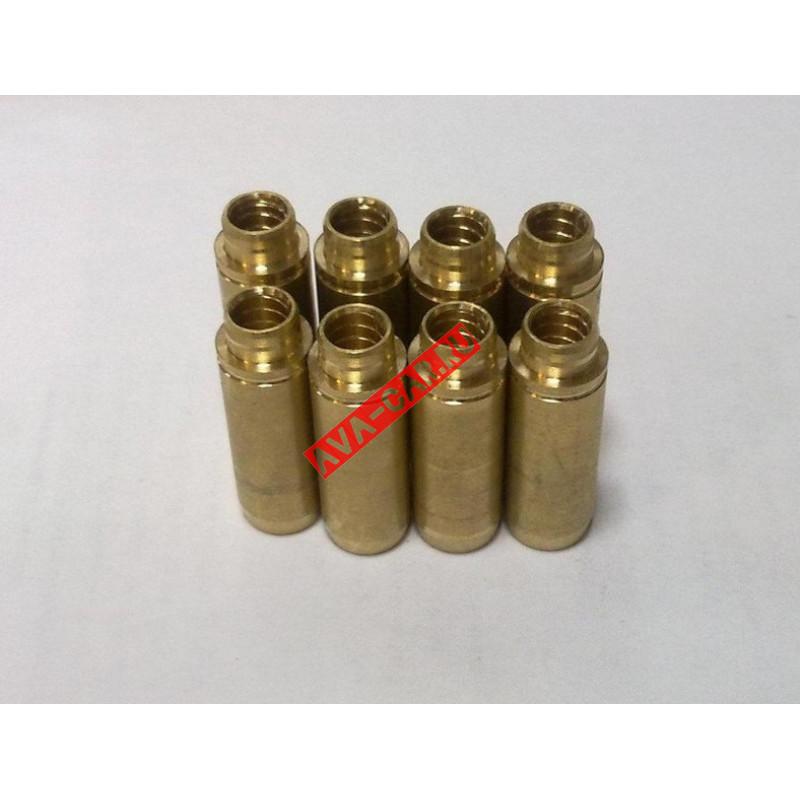 Втулки направляющие клапана ВАЗ 2108-2115, 1117-1119, 2170-2172 ДВС латунные (к-т 8 шт.) ТОР-Д