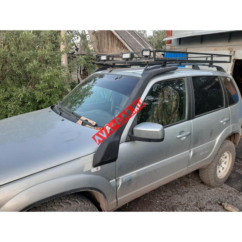 Шноркель Chevrolet Niva 2123 03 Люкс окрашеный (полный к-т)