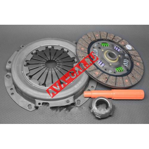 Сцепления в сборе (диск, корзина, выжимной) Lada Largus 1.6 8V, Renault Logan, Logan MCV 1.6 8V 04  FENOX