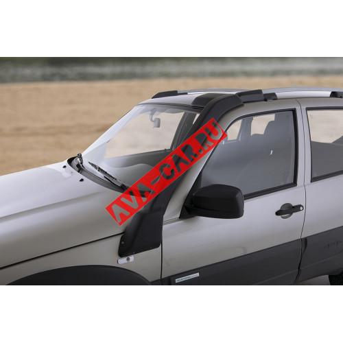 Шноркель Chevrolet Niva 2123 c УК-02 антигравий