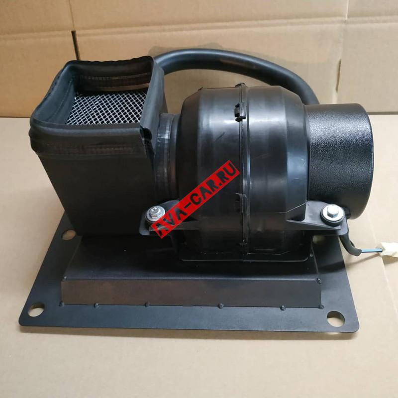 Мотор отопителя доработанный для Нивы ВАЗ 2121, железный корпус (Устанавливается под капот)