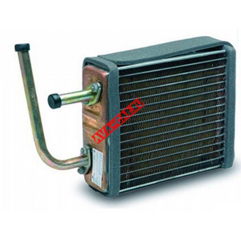 Радиатор отопителя Нива 4X4 Ваз 2121, 21213, 21214 медный трехрядный LUZAR.